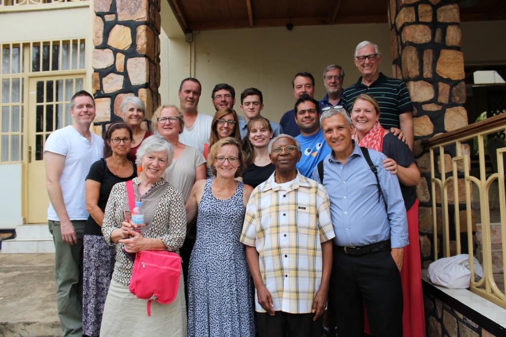 Iris Guest House - Our team + Pastor Syriaha