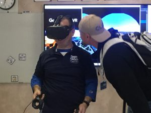 Brian Briggs and Ryan O'Donnell having fun to virtual reality camera