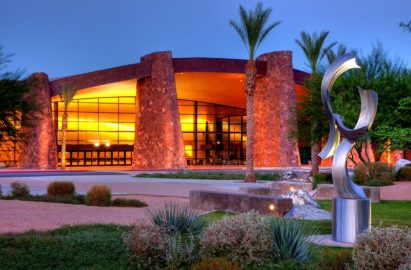 Image of Palm Springs Convention Center -from CUE.org website.