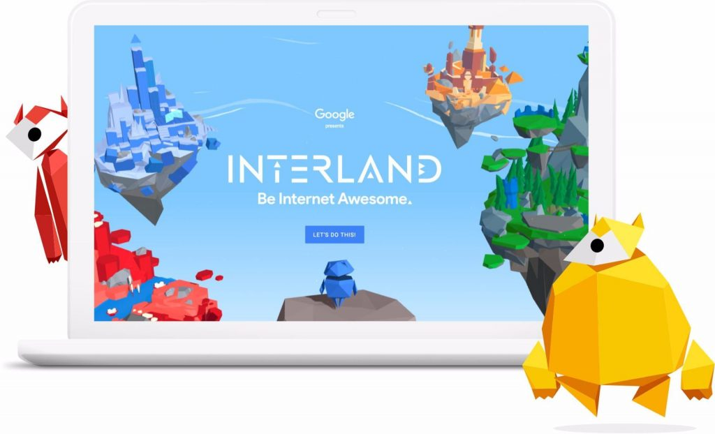 Google's Interland Graphic
