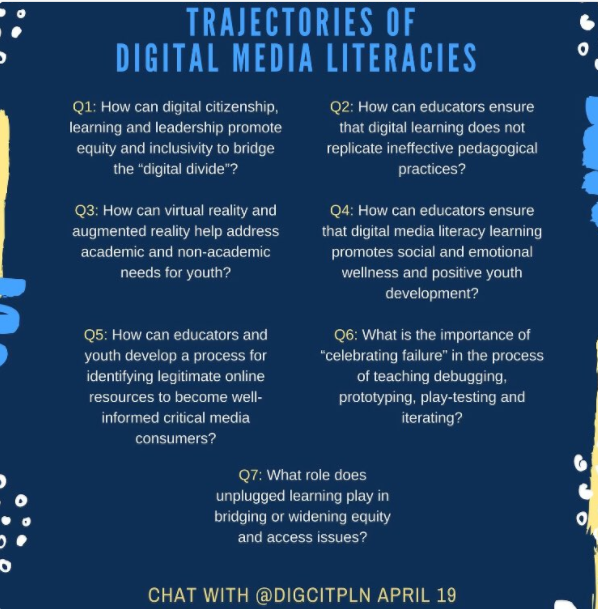 Questions from April 19 #digcitPLN chat.